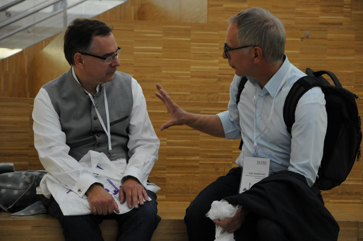 Martin Behrens and Axel Hauser-Ditz from the ILERA 2019 Congress Committee